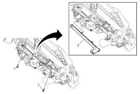repair instructions steering column tilt wheel position sensor