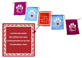 pet prayer prayer flags meaningful pet condolences gift pet prayer flags