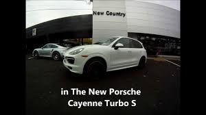 new 2016 4 x genuine porsche cayenne turbo 21 alloy wheels