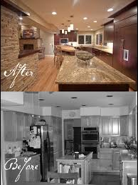 room remodels kitchen remodels before and after oak before and after