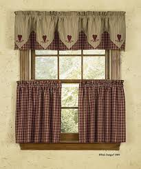 curtain ideas country french style kitchen curtains bay window