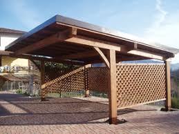 tettoia legno auto realizzazione e vendita box auto arcover in legno per auto e