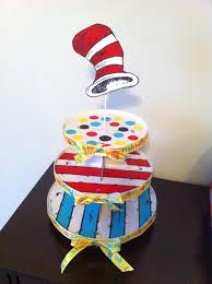 dr seuss cupcake stand for under 10 thanks to pinterest cupcake