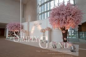 wedding backdrop hong kong whimsical elegance