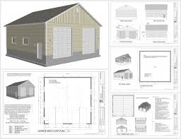 free garage plans and designs 3 car garage plans echanting of