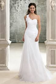 one shoulder wedding dress a line one shoulder chapel pleats wedding dress 8872537