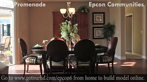 the promenade home model virtual tour video 2 epcon