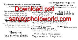 wedding quotes psd sanjay photo world wedding psd text wording vol 01