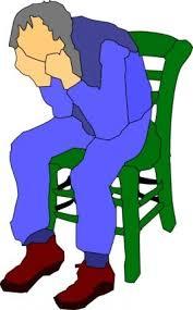 clipart uomo uomo seduto su una sedia file vettoriale clipart me