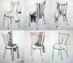 dessiner une chaise dessin de chaise en plan recherche decoration