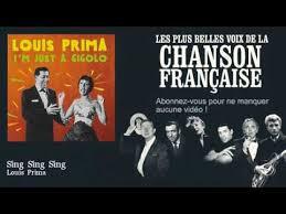 sing sing sing with a swing louis prima louis prima sing sing sing