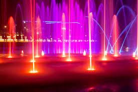 led pond light light dmx compatible color changing rgb