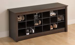 Small Shoe Bench by Mudroom Shoe Storage Shelves With Bench Decofurnish
