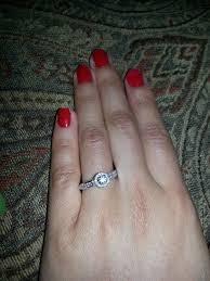 girl hand rings images Real girl engagement rings proposal stories diamond engagement jpg