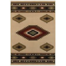 Home Depot Area Carpets Home Decorators Collection Aztec Red 7 Ft 10 In X 10 Ft Area