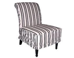 Striped Slipper Chair Whitehaven Billy Baldwin Slipper Chairs