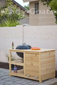 how to build a weber grill table lady goats mr goats father s day gift