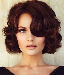 bob hairstyles for 50s for that old hollywood glamour it s all about pin up curls