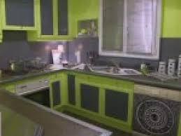 cuisine vert anis deco cuisine vert anis et gris par photosdecoration