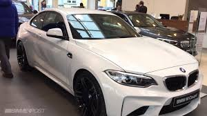 first bmw first bmw m2 in alpine white hits dealership in luxembourg youtube
