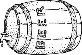 beer keg drawing clip art clker vector clip art