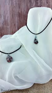 wire jewelry necklace images Diy rock wire jewelry necklace reuse grow enjoy jpg