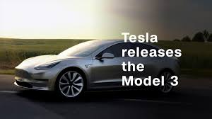 electric cars tesla tesla releases model 3 video technology