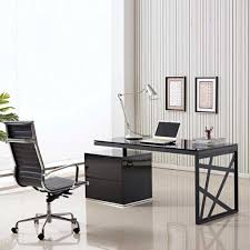 office furniture enchanting contemporary office desk glass