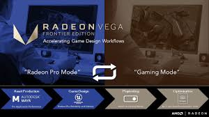 gaming design radeon frontier edition for the pioneers in design