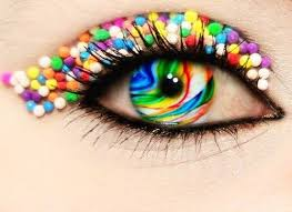 109 colored contacts images colors heart