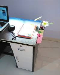 Office Desk Games by My Indian Version Diy Organizing Office Supplies On Desk Side