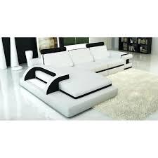 Canape D Angle Blanc Et Noir Canapac Dangle Canape D Angle En Cuir Blanc Convertible Places Canap Dangle Noir Et