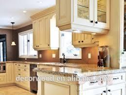 Hot Ivorywhite Birch Wood Kitchen Cabinet With A Large Island - Birch kitchen cabinet