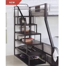 custom made stairs for loft of bunk bed metal storage ladder for