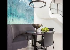 Built In Banquette Purple Pros Houston Citybook Reinventing The City Magazine For