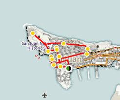 san juan map san juan walking tour alltrails com