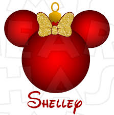 Minnie Mouse Christmas Decorations Christmas My Heart Has Ears