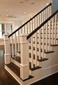 Banister Homes Craftsman Staircase Transitional Staircase Houston By