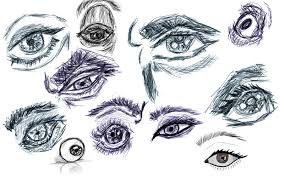 eye sketches by aliabd on deviantart