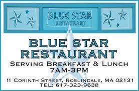 bobdward com graphic design samples blue star restaurant ad