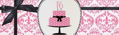 sweet 16 party supplies sweet 16 party decorations birthday in a box
