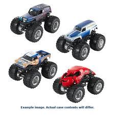 wheels monster truck jam wheels monster jam 1 64 scale 2017 wave 2 case entertainment earth