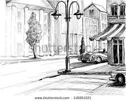 pencil drawing city google search art stuff pinterest city