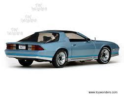 light blue camaro 1982 chevy camaro z28 t top 1929bu 1 18 scale sun usa