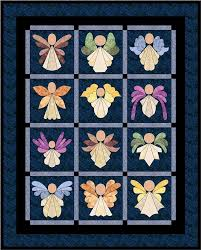 angels quilt pattern fcp 005 lap throw applique