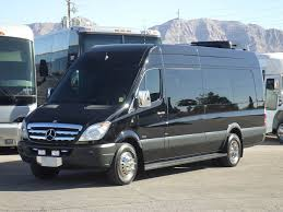 mercedes commercial van used limo bus for sale 2013 mercedes sprinter 18 passenger limo