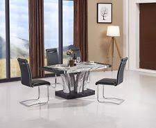 grey marble dining table marble dining room modern tables ebay