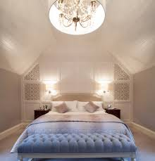White Bedroom Ottoman Bedroom Lovely Attic Bedroom Idea With White Bedding Of King