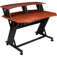Creation Station Studio Desk by Studio Rta Creation Station Studio Desk Cherry Musical Instruments