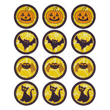 Halloween Cake Topper by Halloween Edible 12 Pack Cake Toppers Unique Home Living